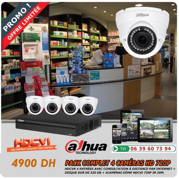 alarme maison, vidéosurveillance et caméra de surveillance pas