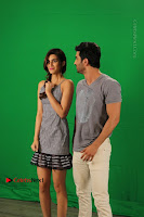 Kriti Sanon & Sushant Singh Rajput Pos During Promotional Interview For Raabta .COM 0006.jpg