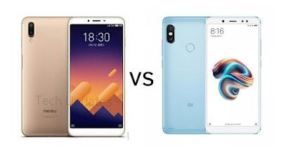 Meizu E3 vs Xiaomi Redmi Note 5 Pro