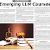 CAREER COUNSELLING - Emerging LLM Courses