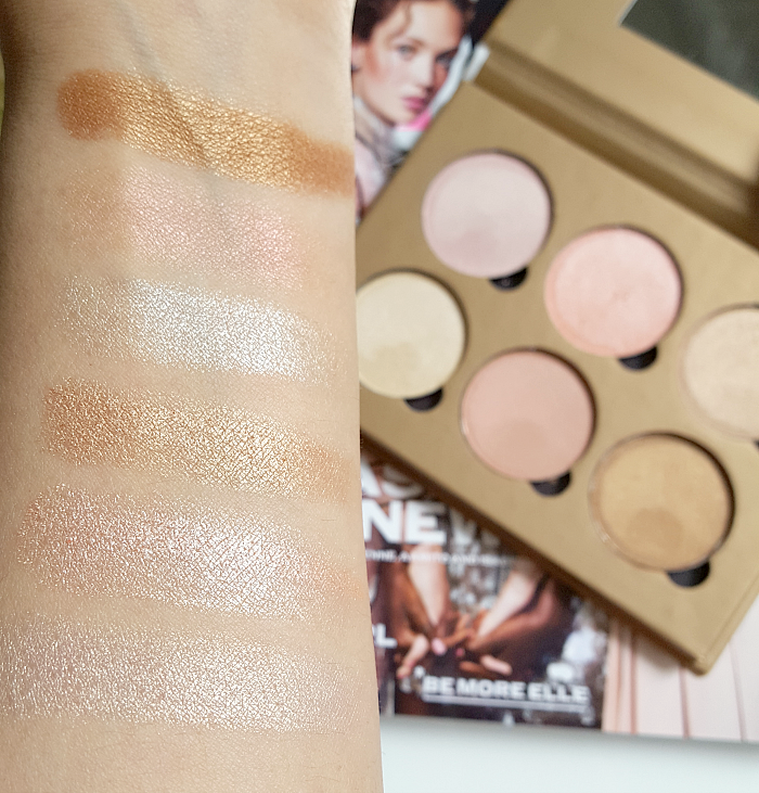 Review & Swatches: bellápierre Cosmetics - Glowing Palette Highlighter Mineral Makeup - Madame Keke The Luxury Beauty & Lifestyle Blog