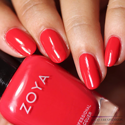 Nail Polish Swatch and Review of Zoya Karen from the Zoya Sunshine Collection for Summer 2018