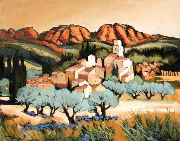 Seattle Art Galleries Welch Jean Triolet - Painter Of Felicity