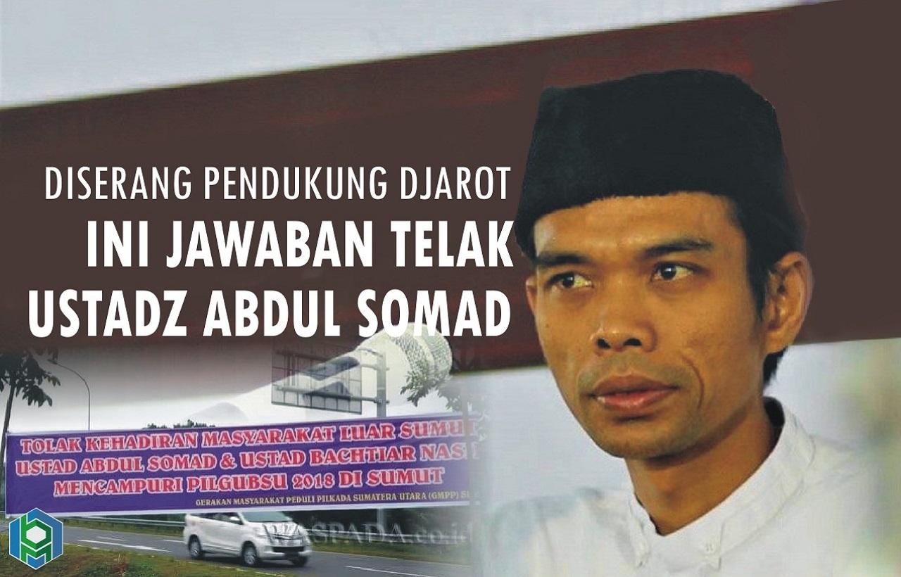 Diserang dengan Spanduk, Ini Jawaban Telak Ustadz Abdul Somad untuk Pendukung Djarot