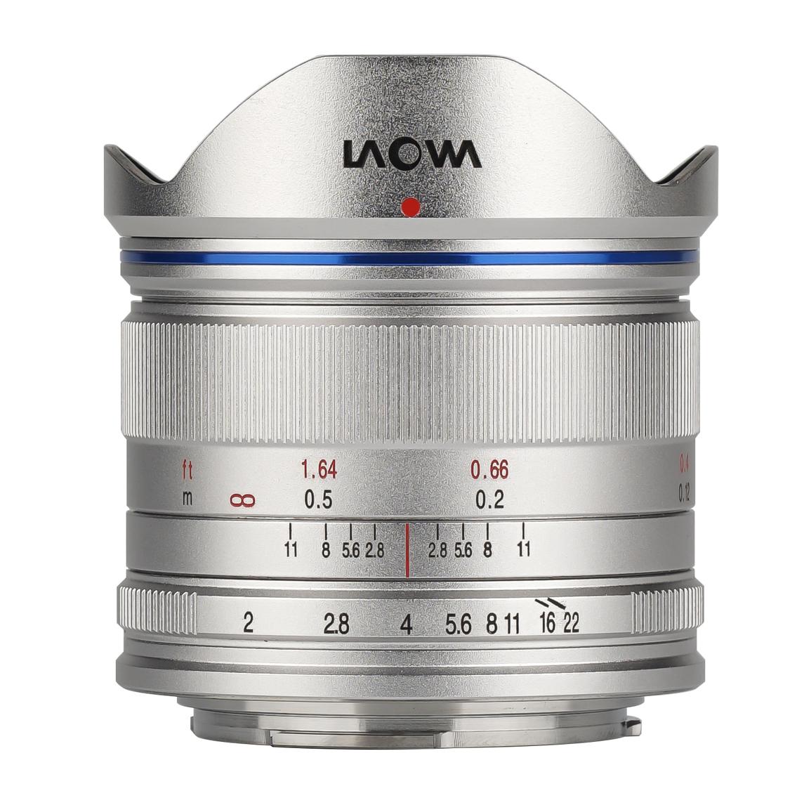 Laowa 7.5mm f/2.0, серебристый
