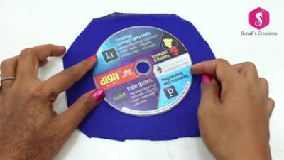 Cara Membuat Kreasi Unik dari Daur Ulang CD DVD Bekas