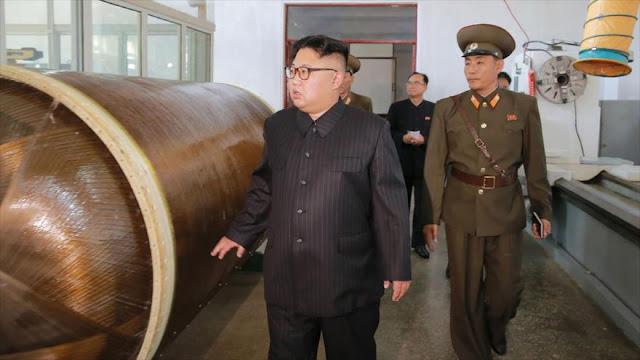 Medio de EEUU: Kim podría vender armas nucleares a terroristas