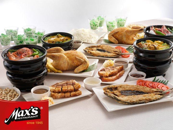 Max Restaurant Menu Promo