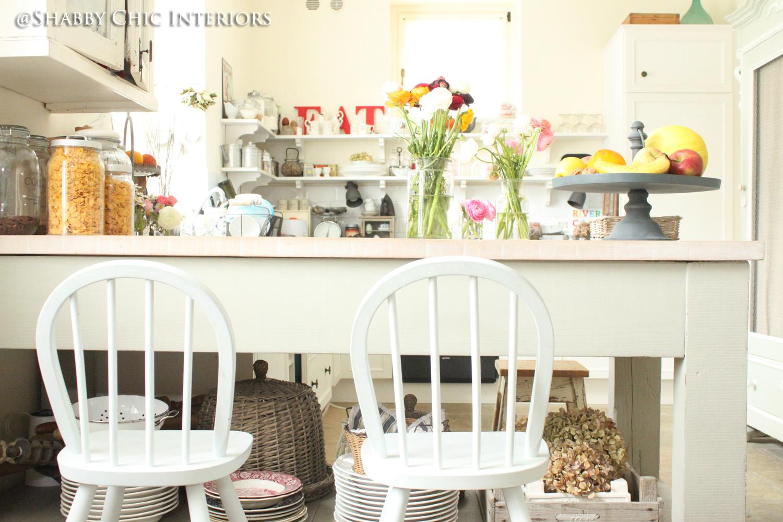 Trasformazione in cucina shabby chic interiors
