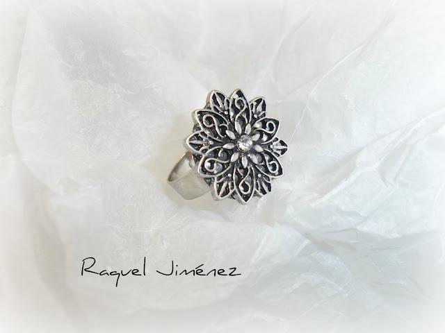anillo vintage plata
