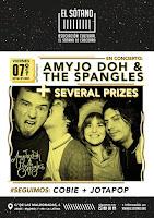 Concierto de AmyJo Doh and the Spangles y Several Prizes en El Sótano