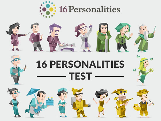 16 Personalities Myers-Briggs Personality Test