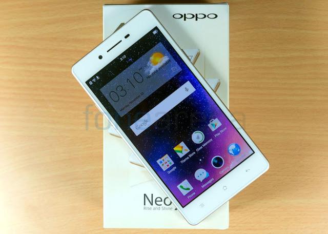 Spesifikasi Lengkap Oppo Neo 7 4G LTE