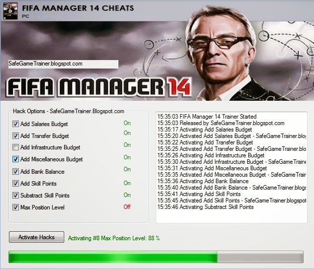 Fussball Manager 14 Trainer Cheats
