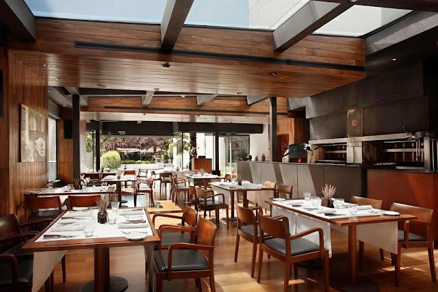 Restaurante do Park Hyatt Mendoza Hotel, Casino & Spa em Mendoza
