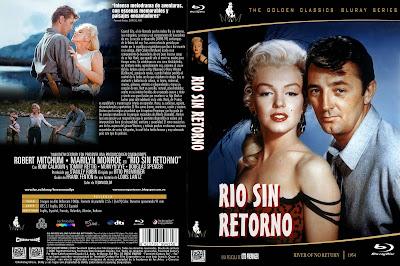 Carátula: Río sin retorno (1954) (Almas perdidas) (River of No Return)