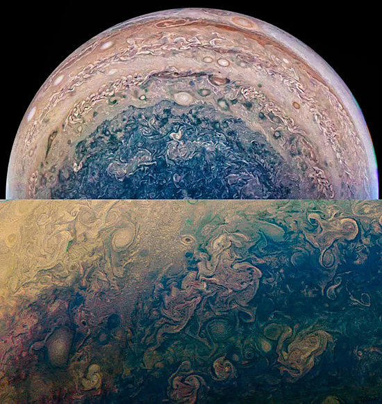 NASA libera mais fotos inéditas de Júpiter - Img 3