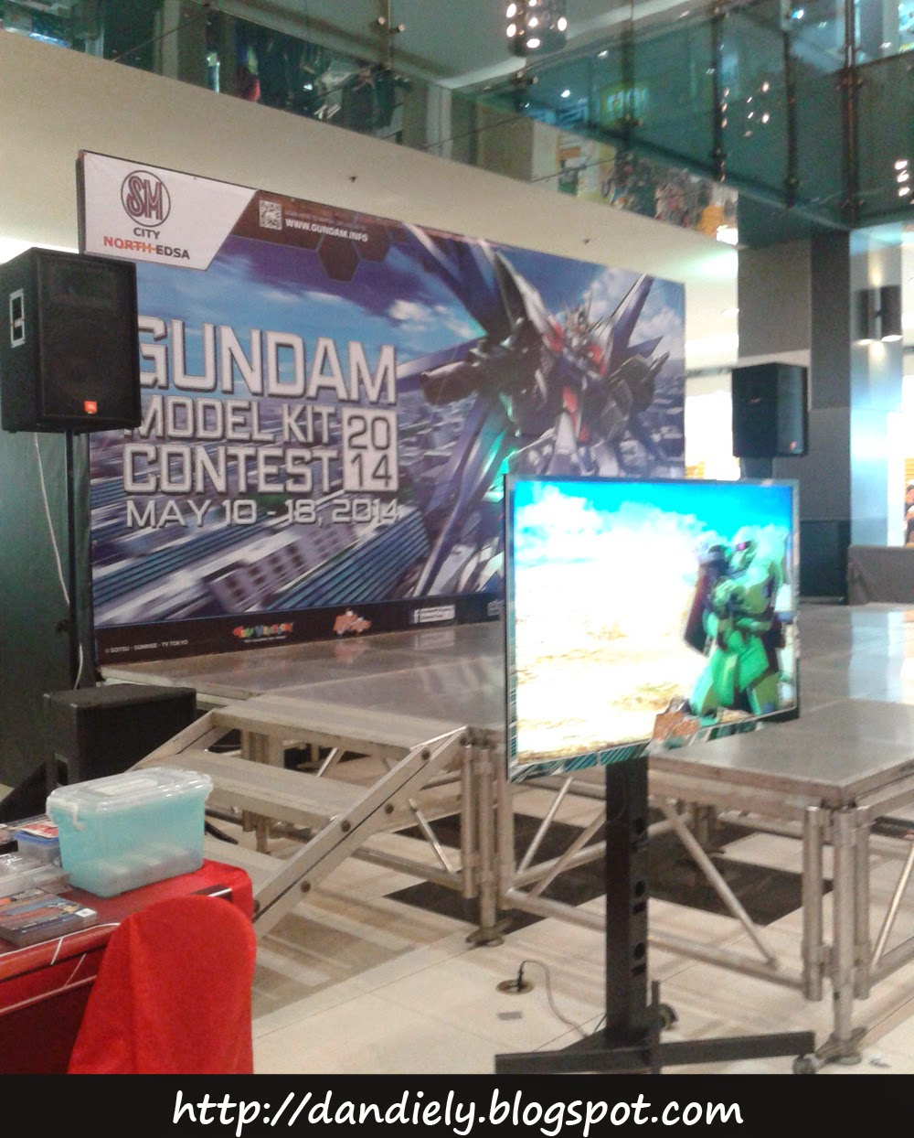 Event Stage - Gundam Model Kit Contest 2014 Philippines