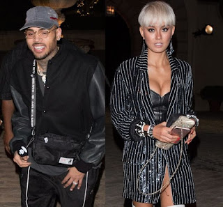 Chris Brown & Agnez Mo Fuel More Relationship Rumours At DJ Khaled's Birthday Party