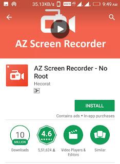 Mobile Screen recorder