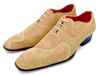 Richelieu, daim beige, paulus bolten, patine, chaussures habille, souliers