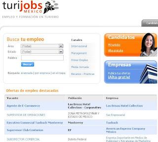 TURIJOBS.com.mx Mexico Ofertas empleo de turismo