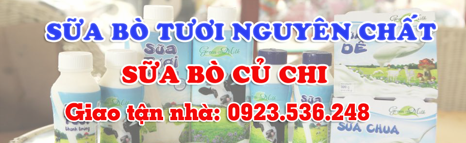 sữa bò tươi củ chi - bán sữa bò tươi nguyên chất tphcm