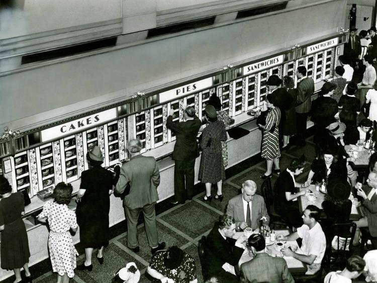 A Vintage Nerd, Automats, Vintage New York