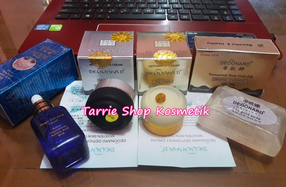 Paket Deoonard Gold Silver Soap + Serum