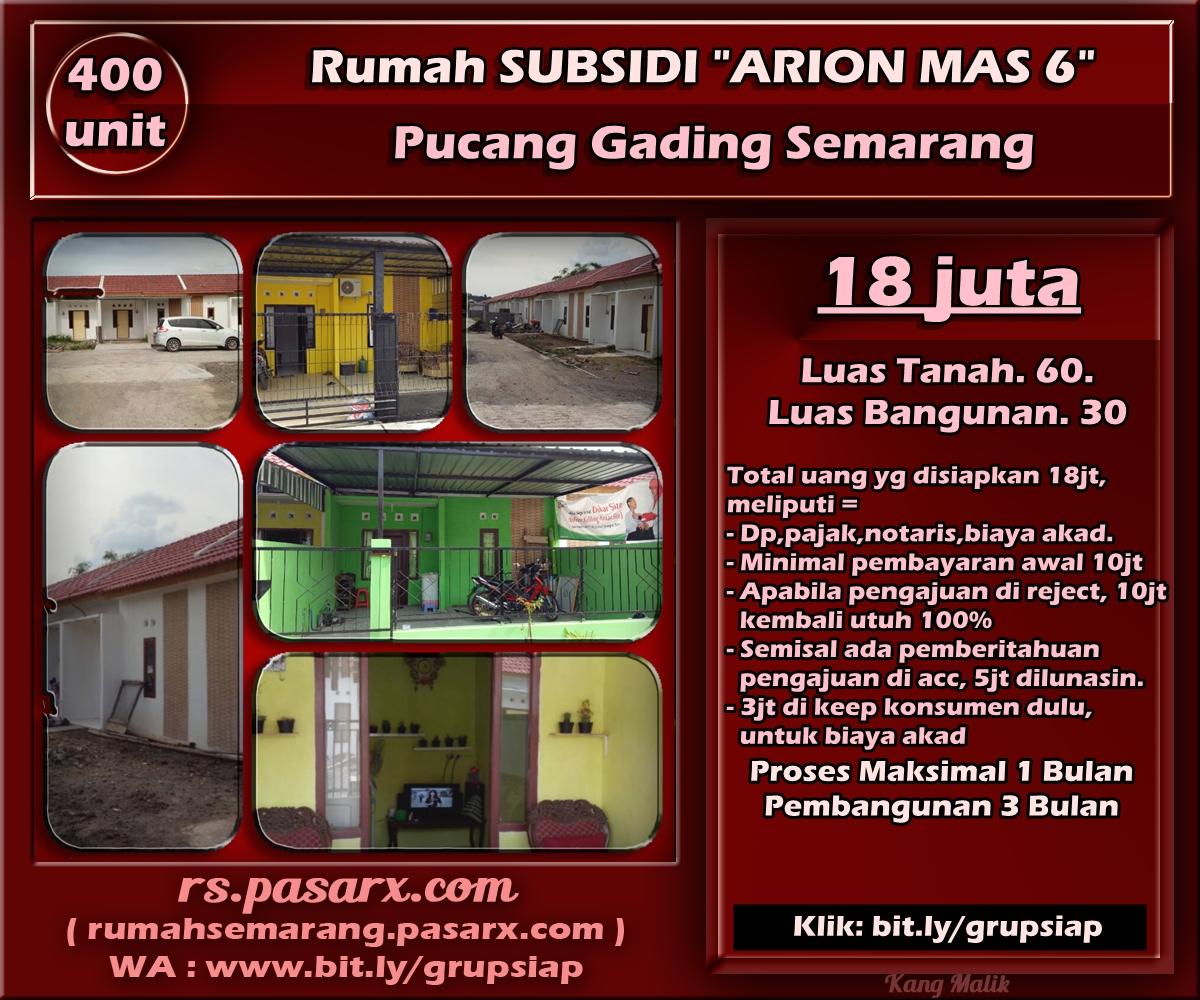 Image Result For Rumah Subsidi Dp Juta Semarang