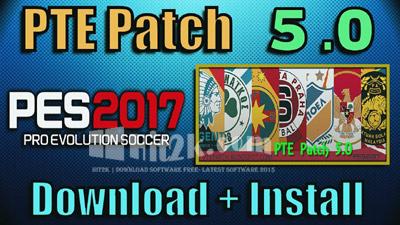 PTE Patch 5.3 PES 2017