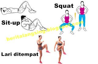 Melangsingkan tubuh dengan cara sederhana