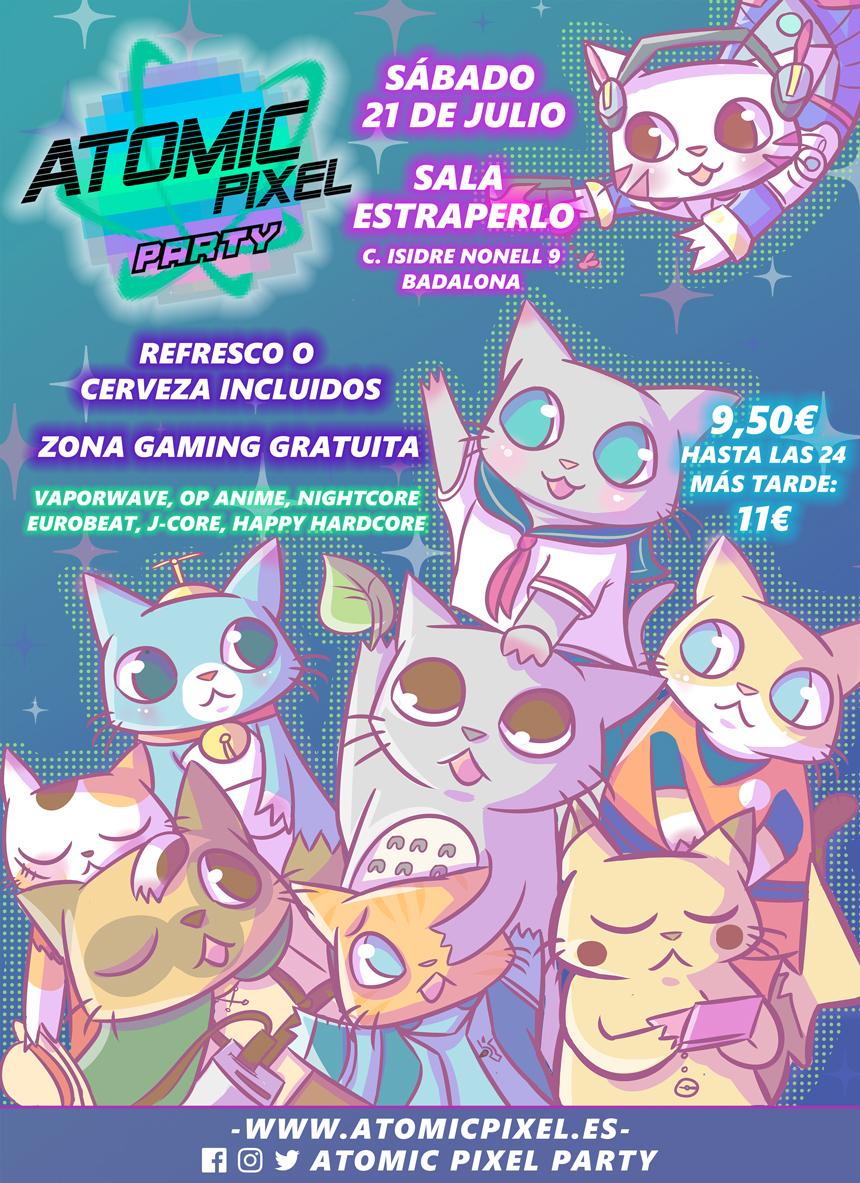Cartel Atomic Pixel Party