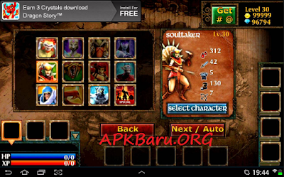 Legendary Heroes v2.3.2 Mod Apk Terbaru (Unlimited Money,Coint,Crystals)