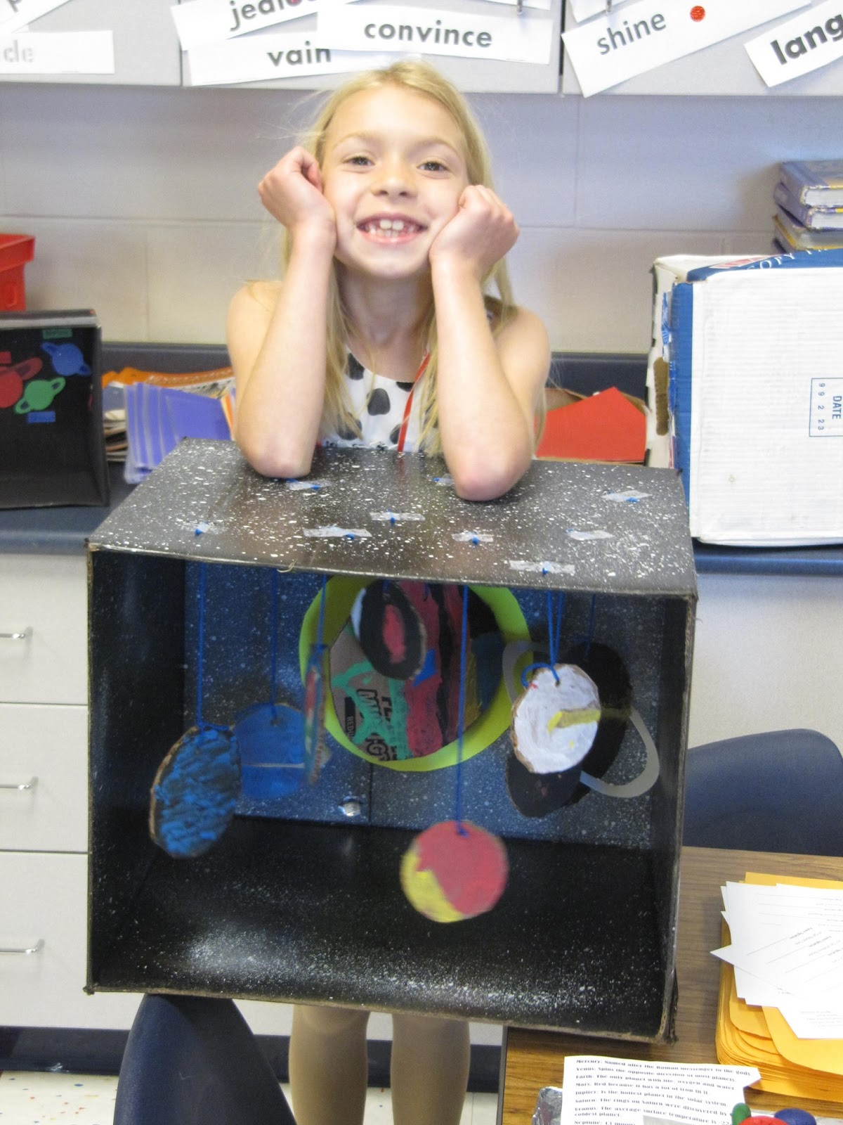 Solar System Diorama 3rd Grade - Pics about space