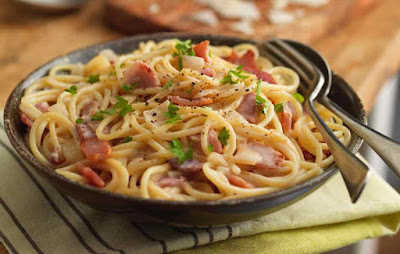 Resepi Spaghetti Carbonara Cheese