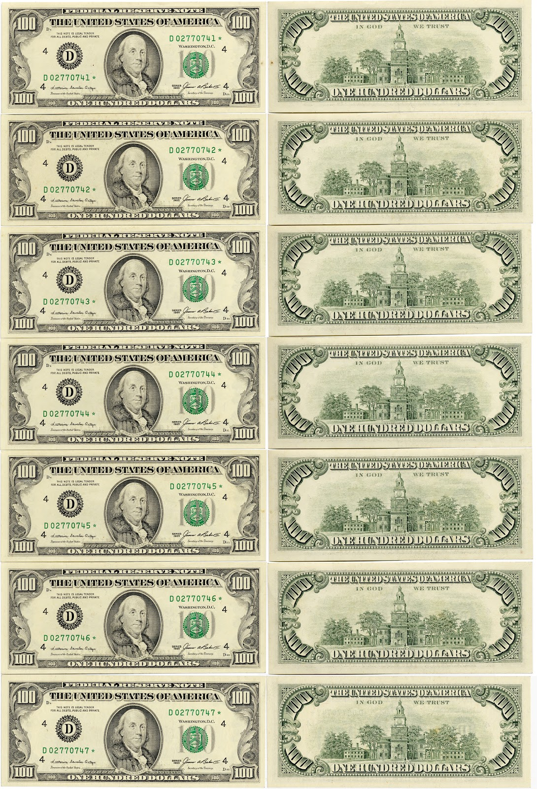5 Dollar Bill Printable Pictures To Pin
