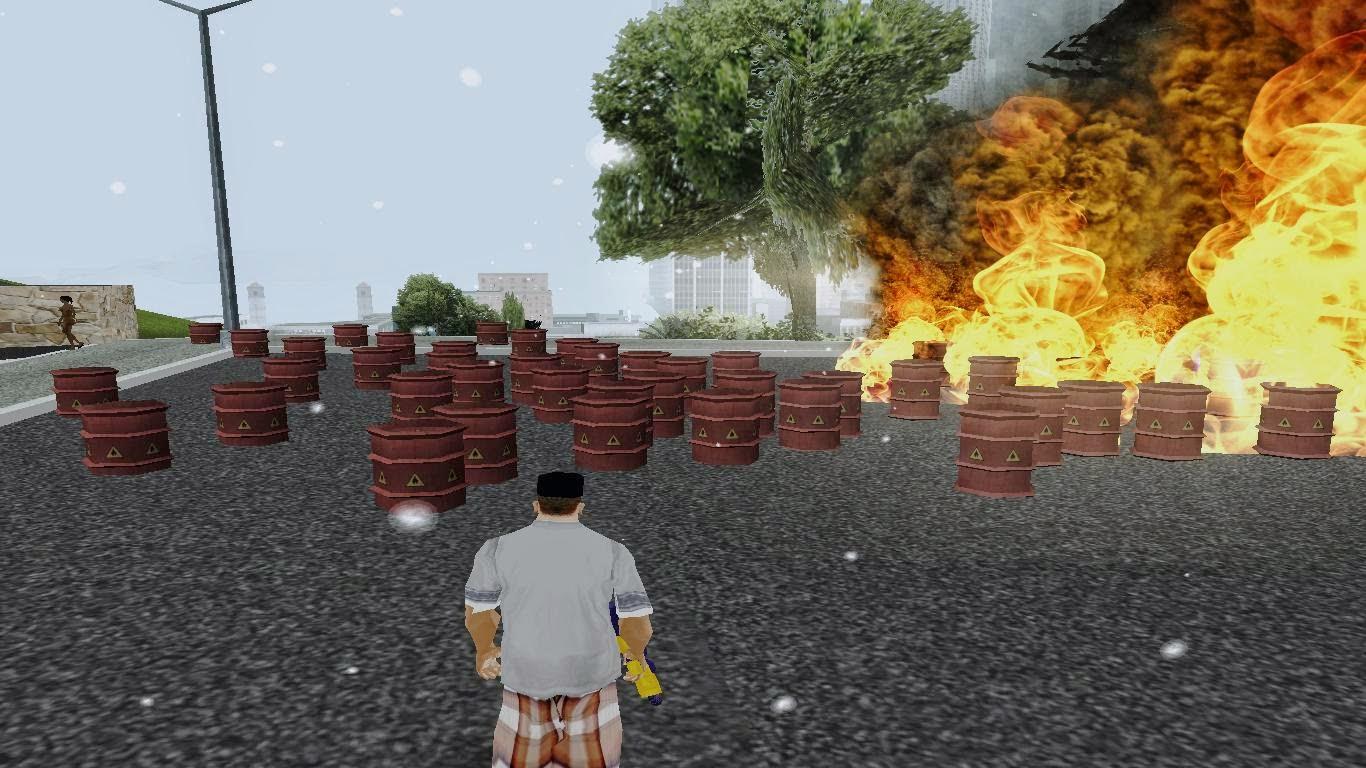 Gas Peledak Gta San Andreas