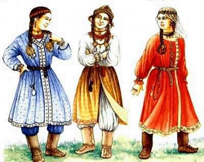 Árpád-kor  Árpád-kori viseletek 3a8135334d
