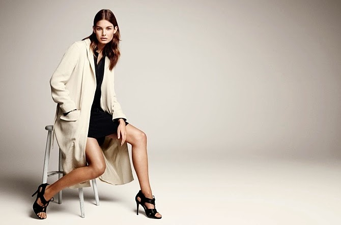 Clean Lines, Feminine Shapes, H&M Modern Classic Spring 2015, Style Essentials, H&M, H&M Modern Classic Spring 2015, Fluid Suit, utility jacket, soft tux, print dress, Quilted Zip Up, Warp Jacket, oversized blouse, Suede Bomber, h&M style, H&M fashion