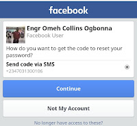 How To Reset Your Facebook Password or Recover Your Facebook Account.