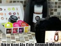 Bikin Kopi Ala Cafe Dengan Mesin DOLCE GUSTO Praktis Gak Pake Ribet