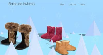 especial botas de invierno