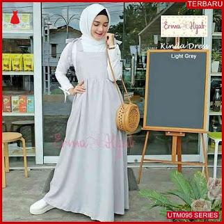 UTM095K106 Baju Kinda Muslim Dress Dewasa Overall UTM095K106 05F   Terbaru BMGShop