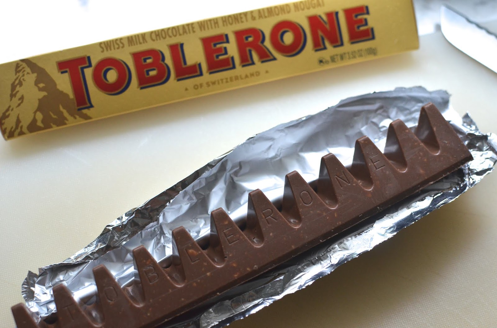 Playing With Flour Double Chocolate Toblerone Cookies