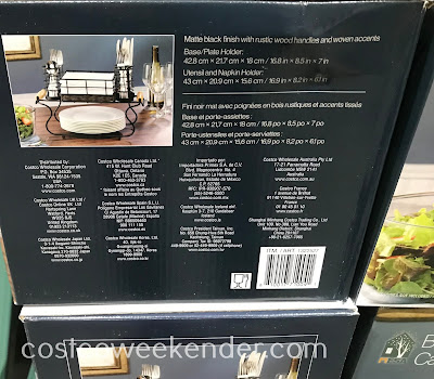 Costco 1322527 - Mesa Buffet Caddy: great for hosting a dinner party