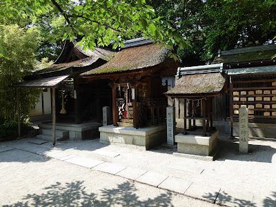 京都御苑・宗像神社 小将井神社・繁栄稲荷神社・金比羅宮