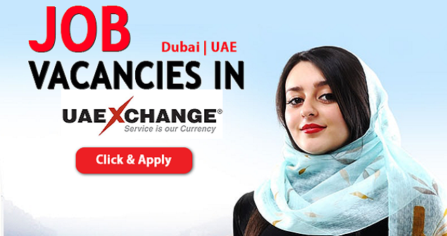Latest Job Vacancies In Uae Exchange