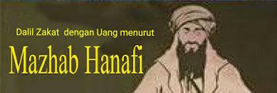 Dalil Zakat Fitrah dengan Uang Menurut Mazhab Hanafiah