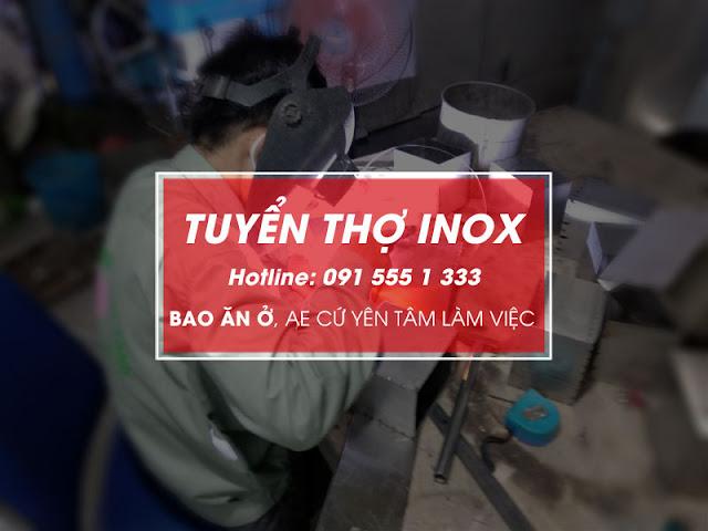 Gia công thiết bị bếp công nghiệp tại Hà Nội